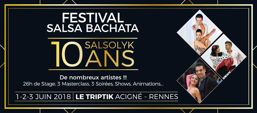 FESTIVAL SALSA BACHATA RENNES